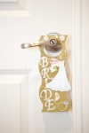 wedding - bridal suite door hanger