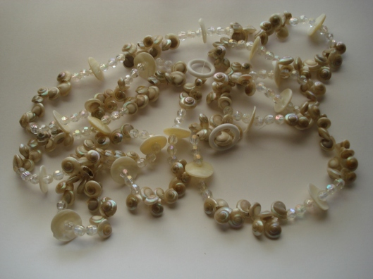 Nautilus Sea Shell Garland