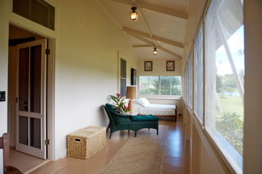 Screened in Porch from Kauikeolani Estate