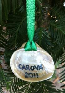 Handmade Shell Ornament