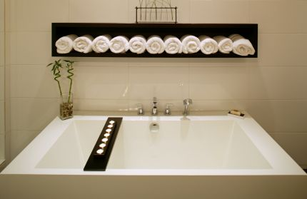 Spa Week And Coastal Bathroom Decor « CereusArt CereusArt