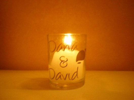 Votive Wedding Favors by ScrapsofLovebyJen