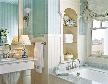 Spa week and coastal bathroom decor lana lennox 39 s blog for Spa like bathroom decor