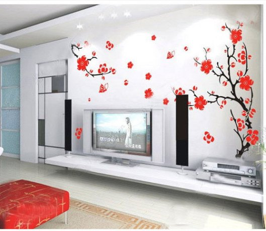 Cherry Blossom-Vinyl wall Decal