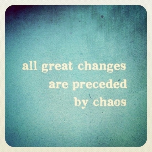 All Great Change Quote